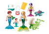 Playmobil - Mermaid Family With Shell Stroller