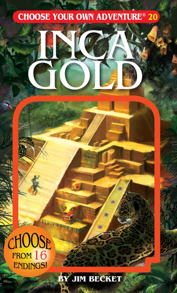 Book - Choose Your Own Adventure: Inca Gold