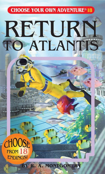 Book - Choose Your Own Adventure : Return To Atlantis
