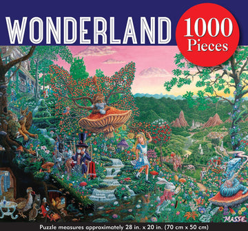 Puzzle - Wonderland - 1000 Pieces