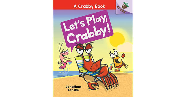 Book (Paperback) - Let's Play, Crabby!