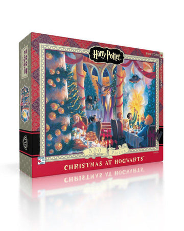 Puzzle - Harry Potter: Christmas at Hogwarts - 500 Pieces