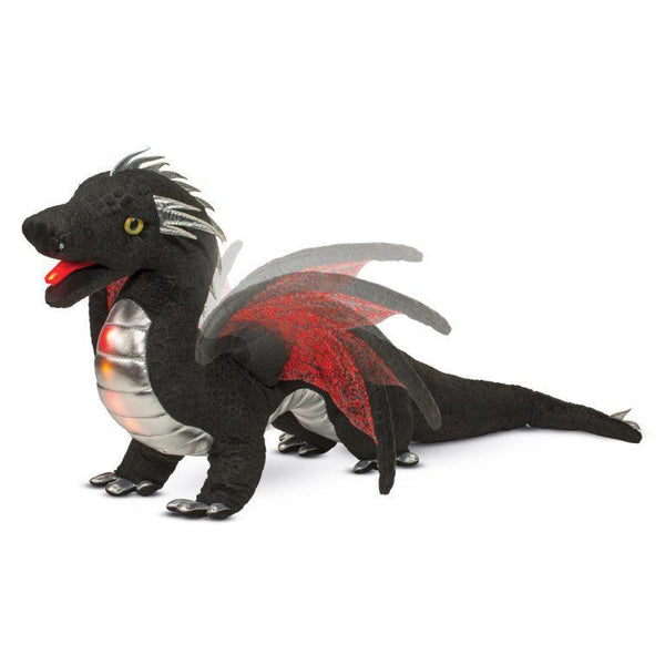 Stuffed Animal - Ember Light & Sound Dragon