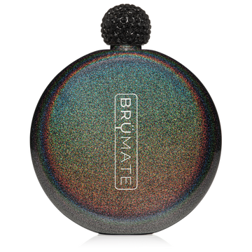 Drinkware - Glitter Flask Charcoal