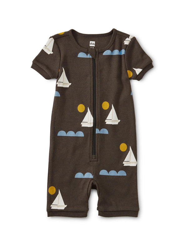 Coverall (Zipper/Short Sleeve) - Sailing The Nile
