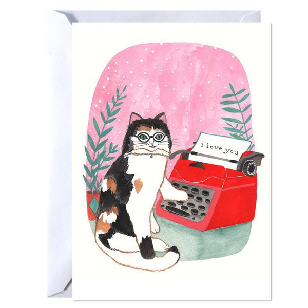 Art Card - Cat Love Note