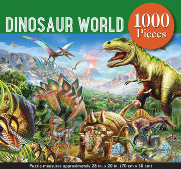 Puzzle - Dinosaur World - 1000 Pieces