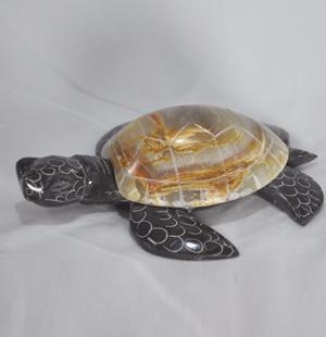 Marble Turtle - 6.5 inches