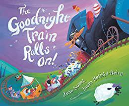 Book (Board) - The Goodnight Train Rolls On!