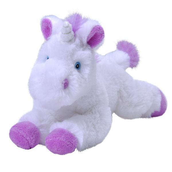 Stuffed Animal - Unicorn Mini Ecokins 8 in.
