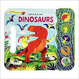 Book (Board) -  Dinosaur Sounds