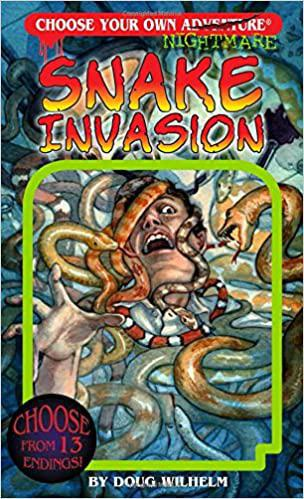 Book - Choose Your Own Adventure(Nightmare): Snake Invasion