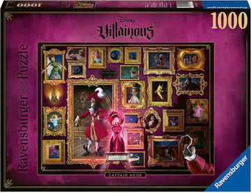Puzzle - Disney's Villainous: Captain  Hook - 1000 Pieces