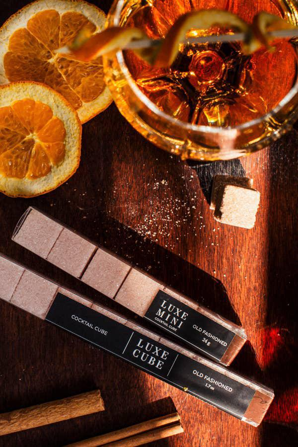 LUXE Sugar Stick - Cocktail Cubes (Manhattan, Moscow Mule, or Old Fashioned)