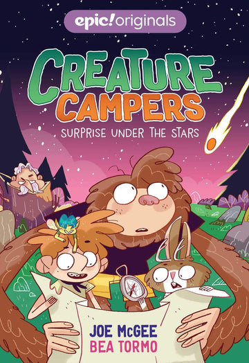 Books - Creature Campers: Surprise Under the Stars (Book 2)