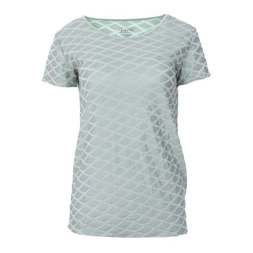 Women's Loosey Goosey Tee (Short Sleeve) - Iridescent Mermaid Scales