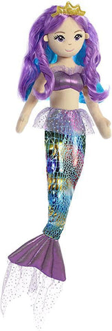 Mermaid Doll - Rainbow Violet