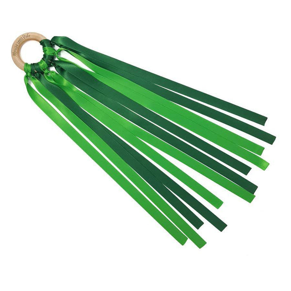 Ribbon Wand - Green