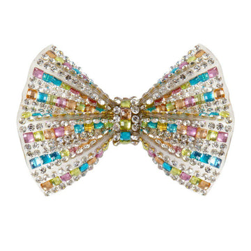 Hair Clip - Bejewelled Bow