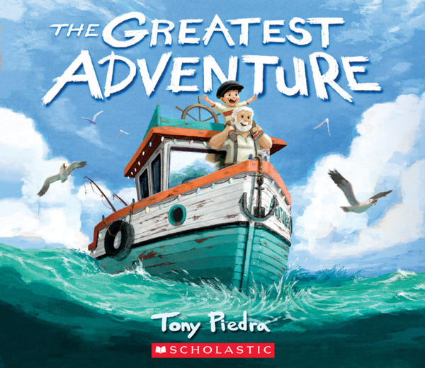 Book (Hard Cover) - The Greatest Adventure