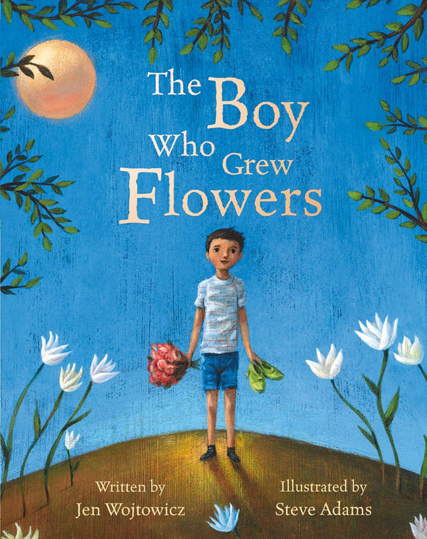 Book (Paperback) - The Boy Who Grew Flowers