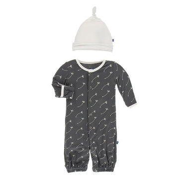 Converter Gown with Hat - Stone Dandelion Seeds