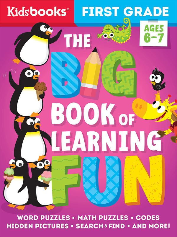 Book (Activity) - First Grade Big Book Of Learning