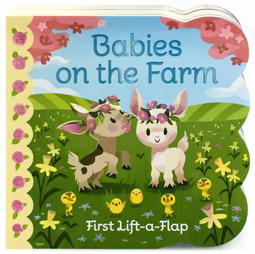 Book (Board) - Babies On The Farm