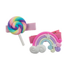 Hair Clip - Lollipop + Rainbow
