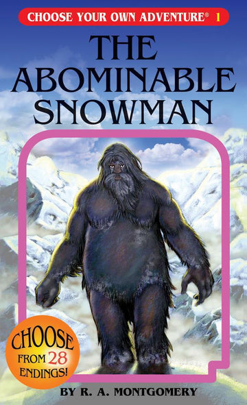 Book - Choose Your Own Adventure: The Abominable Snowman