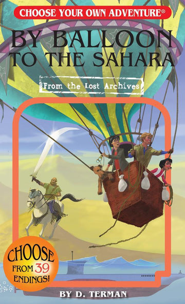Book - Choose Your Own Adventure: By Balloon To The Sahara