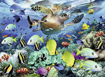 Puzzle - Underwater Paradise -  150 Pieces