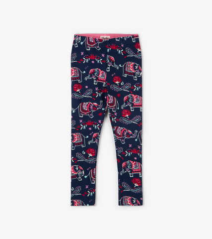 Leggings - Elegant Elephants
