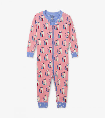Coverall (Organic Cotton) - Patchwork Kitty