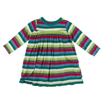 Swing Dress (Long Sleeve) - 2020 Multistripe