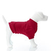 Size Large - Dog Tee -  Solid Crimson