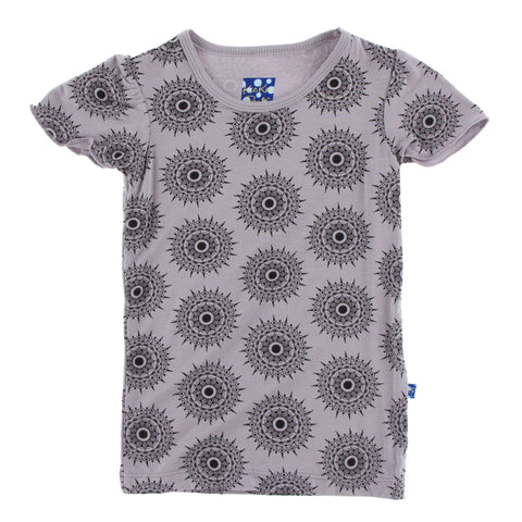 Flutter Tee (Short Sleeve) - Feather Mandala