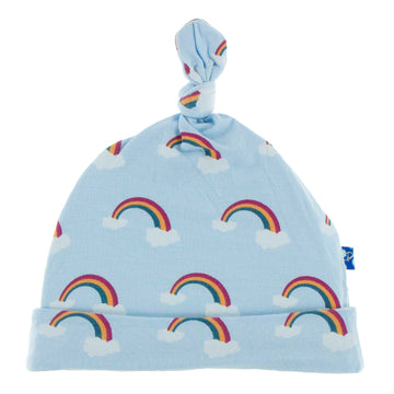 Single Knot Hat - Pond Rainbow