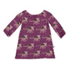 Peasant Dress - Amethyst Kosmoceratops