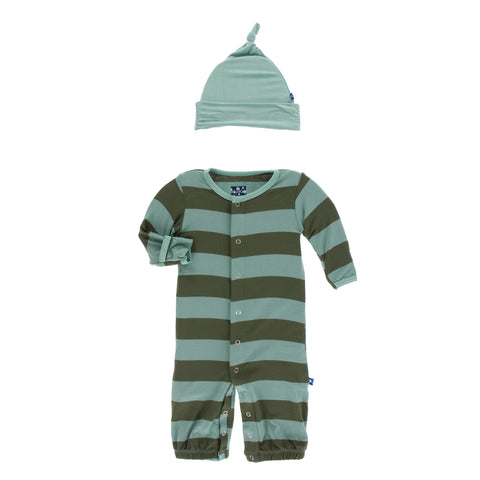 Converter Gown With Hat - Fauna Stripe
