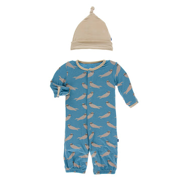 Converter Gown With Hat - Blue Moon Sea Otter