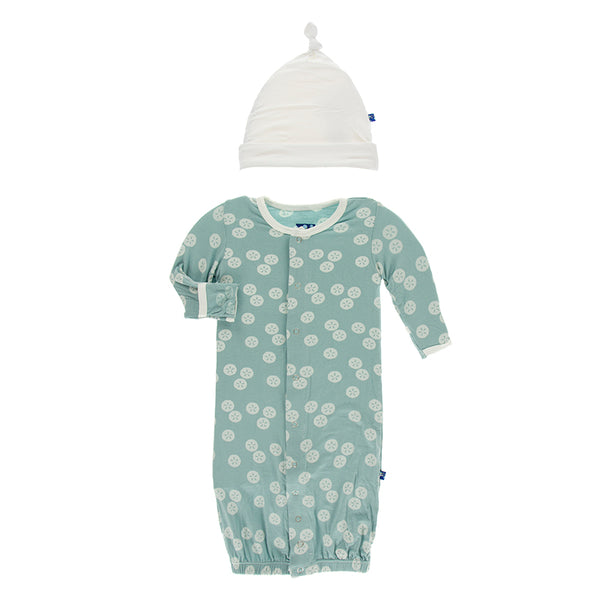 Converter Gown With Hat - Jade Sand Dollar
