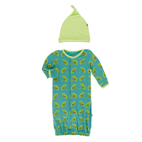 Converter Gown with Hat - Neptune Ginkgo