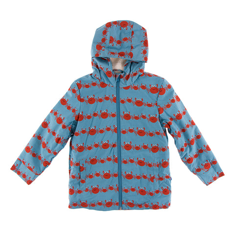 Raincoat (Sherpa Lined) - Blue Moon Crab Family