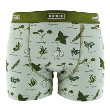 Men's Boxer Briefs - Aloe Herbs
