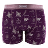 Size 2XL - Men's Boxer Briefs - Wine Grapes Herbs