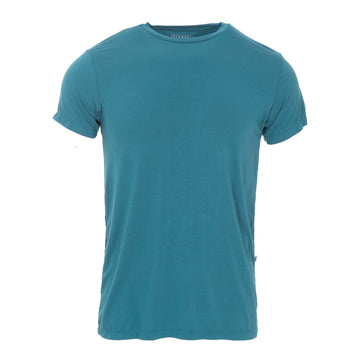 Men's Basic Tee (Short Sleeves) - Oasis