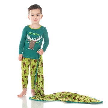 Swaddle - Meadow Bad Moose