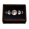 Wooden Box - Moon Phases 3 x 4 Inches