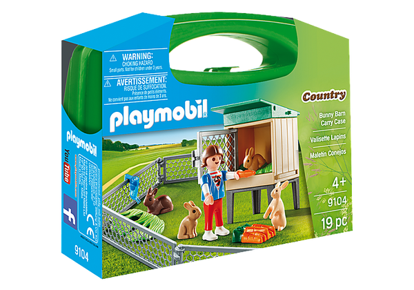 Playmobil - Carry Case Bunny Barn